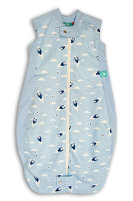 ergoPouch® Organic Cotton&Bamboo Mix Sleeping bag 1.0 TOG - Spací pytel