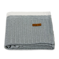 Baby´s Only Fine Blanket - Dětská deka - Light Grey