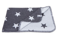 Baby´s Only Star Blanket - Dětská deka - 01. Anthracite/Grey 95x70