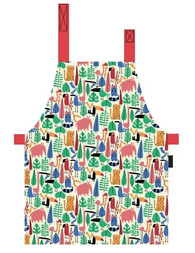 Petit Jour Paris Dans La Jungle PVC coated cotton apron - Zástěra na vaření