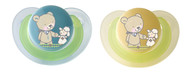 "Rotho® Modern Feeding Four Little Friends ""Newborn soothers"" - Dudlík pro novorozence 2 kusy"