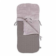 Baby´s Only Cable Teddy Footmuff for Car Seat - Fusak do autosedačky 0+ - Taupe