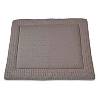Baby´s Only Cable Uni Playpen Mat - Deka do ohrádky - 18. Taupe 85x100