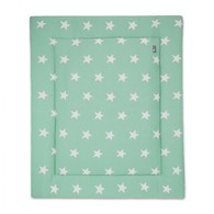 Baby´s Only Star Playpen Mat - Deka do ohrádky - Mint / White
