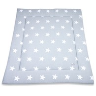 Baby´s Only Star Playpen Mat - Deka do ohrádky - Grey / White