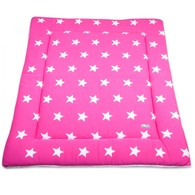 Baby´s Only Star Playpen Mat - Deka do ohrádky - Fuchsia / White