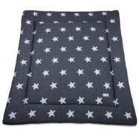 Baby´s Only Star Playpen Mat - Deka do ohrádky - Anthracite / Grey