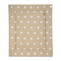 Baby´s Only Star Playpen Mat - Deka do ohrádky - Beige / White
