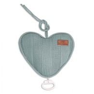 Baby´s Only Robust Musicbox Heart - Hudební srdce - Stone Green