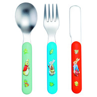 Petit Jour Paris Peter Rabbit 3 cutlery set - Příbor od 12m+