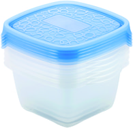 CURVER Take Away 2 Set - Dózy na jídlo 5 x 1,1L Blue