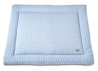 Baby´s Only Cable Uni Playpen Mat - Deka do ohrádky - 05. Baby Blue 75x95