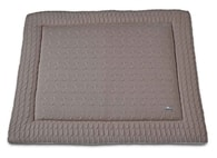 Baby´s Only Cable Uni Playpen Mat - Deka do ohrádky - 09. Taupe 75x95