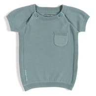 Baby's Only Jumper  (short sleeve) - Stone Green Mt 62