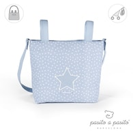 pasito a pasito® Small Changing Bag Vintage - Blue