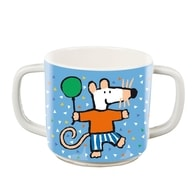 Petit Jour Paris Maisy Mouse Double-handled cup