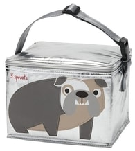 3 Sprouts Lunch Bag - Svačinový box - Bulldog