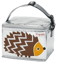 3 Sprouts Lunch Bag - Svačinový box - Hedgehog