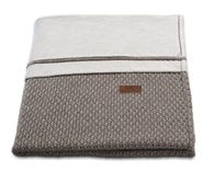Baby´s Only Robust Rib&Pip Chenille Blanket - Dětská deka - 38. Robust taupe 95x70