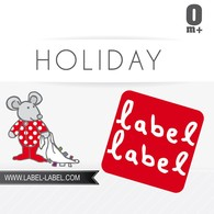 Label-Label Holiday Muchláček