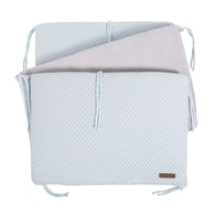Baby´s Only Sun Bed Bumper - Mantinel do postýlky - Powderblue