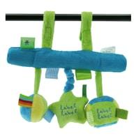 Label-Label Stars Car seat toy - Závěsná hračka k autosedačce - Blue/Green