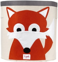 3 Sprouts Storage Bin - Fox