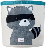 3 Sprouts Storage Bin - Racoon
