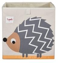 3 Sprouts Storage Box - Hedgehog
