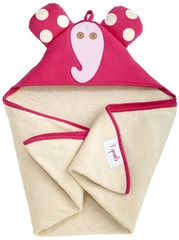 3 Sprouts Hooded Towel - Osuška s kapucí - Elephant