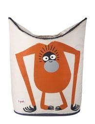 3 Sprouts Laundry Hamper - Orangutan