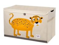 3 Sprouts Toy Chest - Leopard