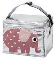 3 Sprouts Lunch Bag - Svačinový box - Elephant