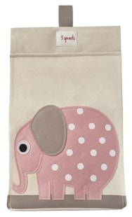 3 Sprouts Diaper Stacker - Elephant