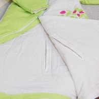 PurFlo SleepSac Embroidered - Vyšívaný spací pytel - Giraffe 2.5Tog 0-3 měsíce