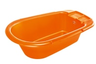 """Rotho® Bella Bambina """"Bath tub"""" - Vanička na koupání - Mandarin Pearl - Oranžová"""