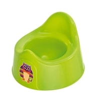 "Rotho® Bella Bambina ""Potty"" - Nočník - Oops Apple Green Owl - Sova zelená"