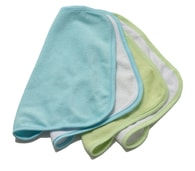 "Rotho® Accessories ""Wash Cloths"" - Žínka na mytí miminek - Mintgreen / Blue"