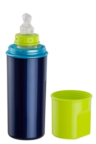 "Rotho® Modern Feeding Four Little Friends ""Stay warm bottle"" - Termolahev - Blue Pearl/Aquamarine/Mintgreen"
