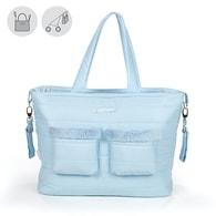 """pasito a pasito® Montblanc Winter Maternity Bags""""CHanging Bag"""" - Přebalovací taška bez podložky Pink - Blue"""