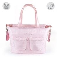 """pasito a pasito® Montblanc Winter Maternity Bags""""CHanging Bag"""" - Přebalovací taška bez podložky Pink - Pink"""