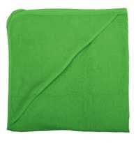 ISI Mini Hooded towel 80x80 Uni - Ručník s kapucí - Green