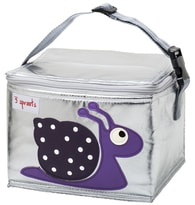 3 Sprouts Lunch Bag - Svačinový box - Snail