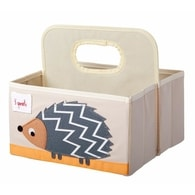 3 Sprouts Diaper Caddy - Hodgehog