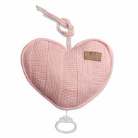 Baby´s Only Robust Musicbox Heart - Hudební srdce - Baby Pink