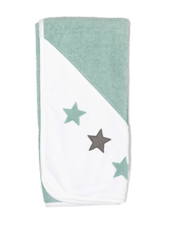 ISI Mini Hooded towel with stars 80 x 80 - Ručník s kapucí