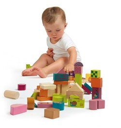 O-OOPS Happy Building Blocks! - Dřevěné kostky